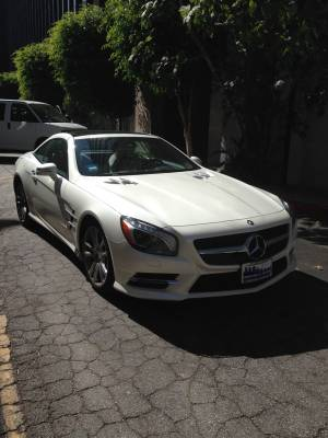 2013 Mercedes Benz Sl550 Roadster
